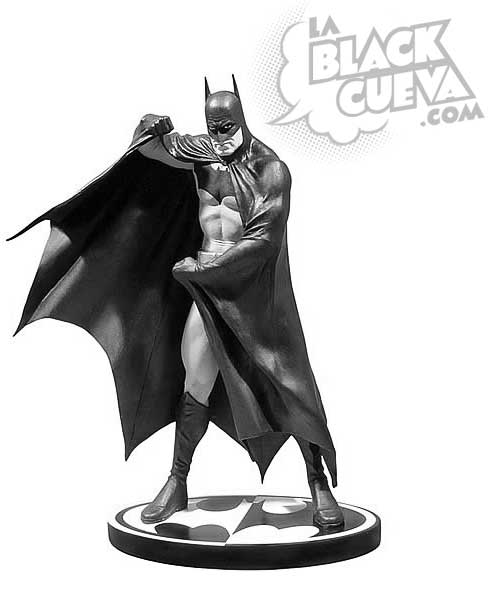 Batman Black and White: estatua de Alex Ross
