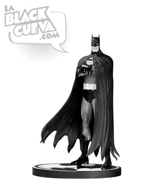 Batman Black and White: estatua de Brian Bolland