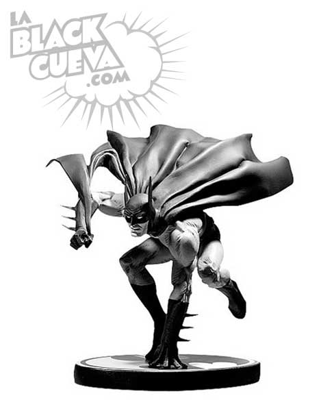 Batman Black and White: estatua de Joe Kubert
