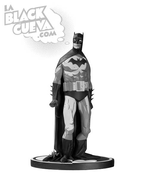 Batman Black and White: estatua de Mike Mignola