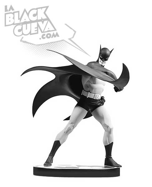 Batman Black and White: estatua de Steve Rude