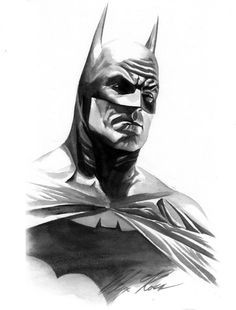Dibujo de Batman de Alex Ross