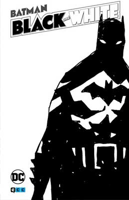 Portada del volumen 3 de Batman Black and White